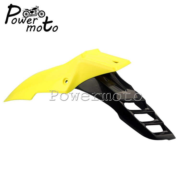 Universal Supermoto Front Fender Mudguard For Suzuki DR650SE RM-Z450 RM85 Yellow