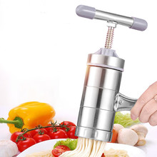 Stainless Steel Portable Manually Noodles Machine Fruit Juice Vegetable Maker Handle Baking Pastry Kitchen Gadgets Accessories