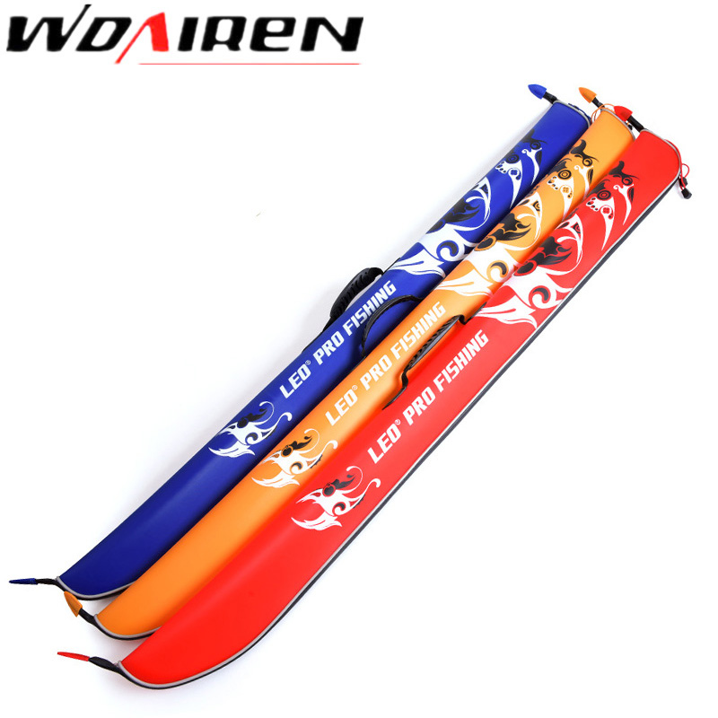 Security & Protection Alert Wdairen 127cm Fishing Bags Portable Folding Fishing Rod Carrier Eva Fishing Pole Tools Storage Bag Case Fishing Gear Tackle