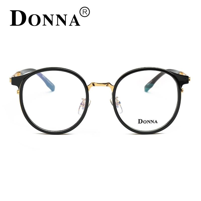 8d2128bcba4 Donna Women Reading Eyeglasses Optical Glasses Frames Glasses Women New  Round Frame Lens Ultra Light Frame DN30