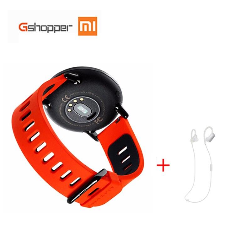 Original Xiaomi Huami Watch English Version Bluetooth 4.0 AMAZFIT Pace Sports Smart Watch Zirconia Heart Rate Monitor