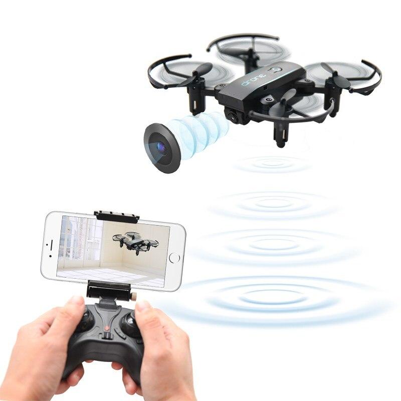 JX 1601hw мини WI-FI FPV-системы с 720 P Камера высота режим Складная рукоятка Радиоуправляемый Дрон Quadcopter RTF Горячее предложение RC Игрушечные лошадки...