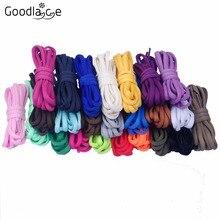 Vente en gros 50 paires de lacets plats ovales cordes de chaussures dentelle de chaussure en Polyester pour baskets 180cm/ 70.8 pouces
