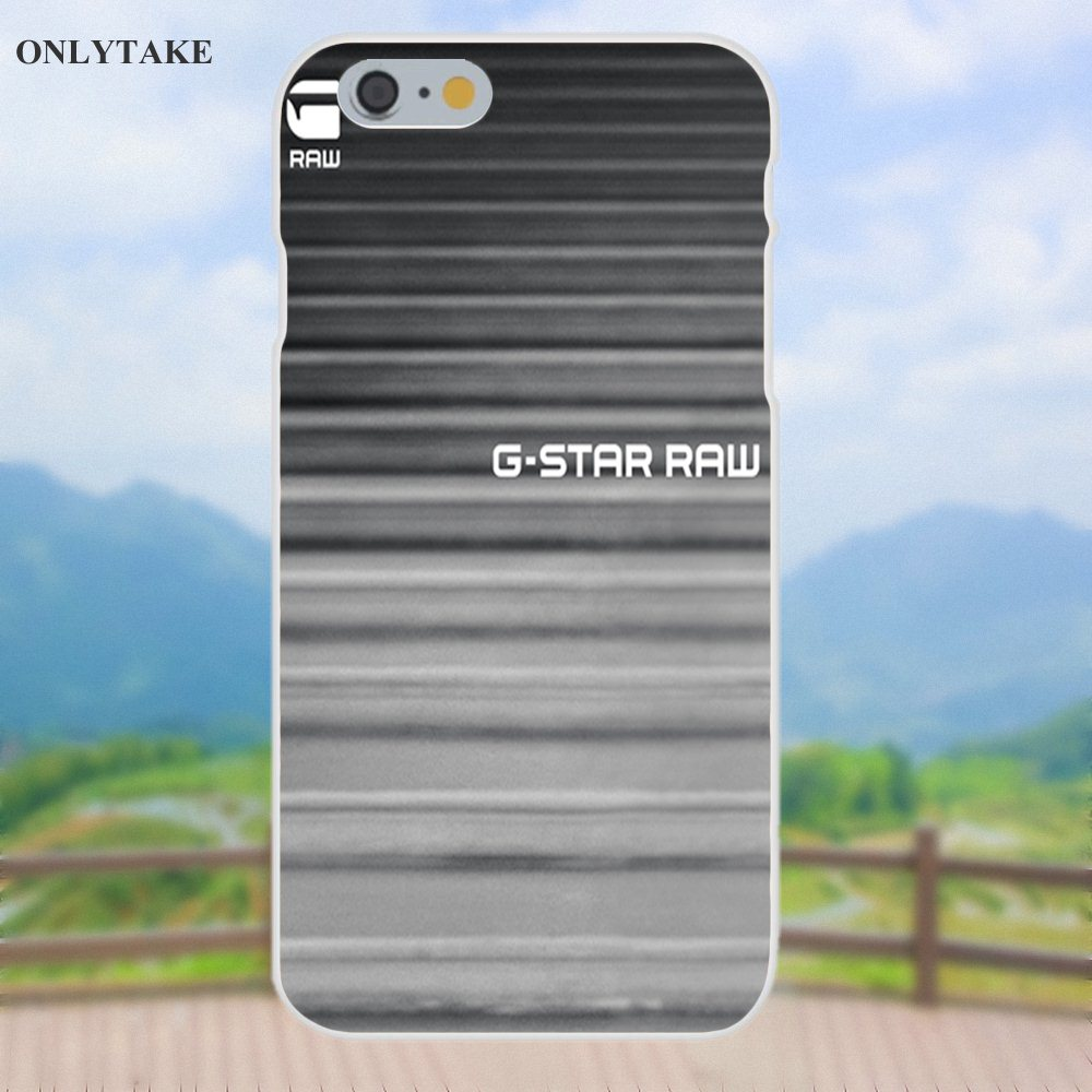 TPU Case G Star Fashion Clothing Brand Logo For Apple iPhone