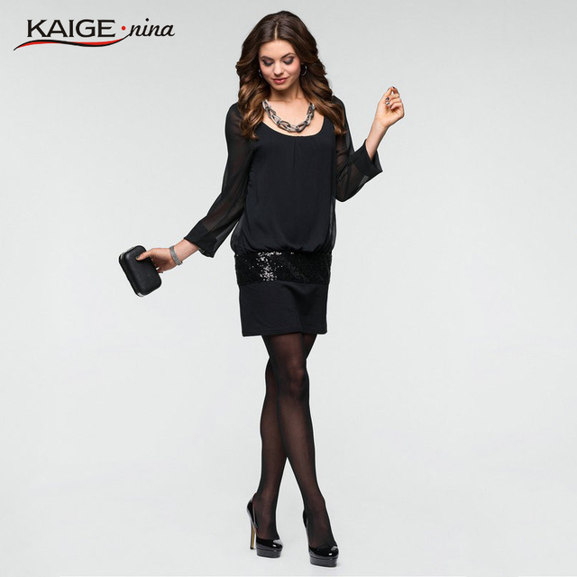 148df7568f4da Kaige.Nina Women Elegant Pinup Celebrity Mech Tunic Stretch Sexy Patchwork  Bodycon Evening Party Pencil Sheath Dress 2231 a-in Dresses from Women's ...