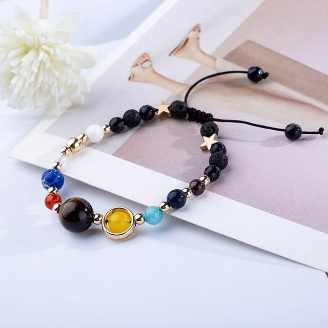 BOEYCJR 9 Planets Pluto Universe Bangles & Bracelets Fashion Jewelry 2