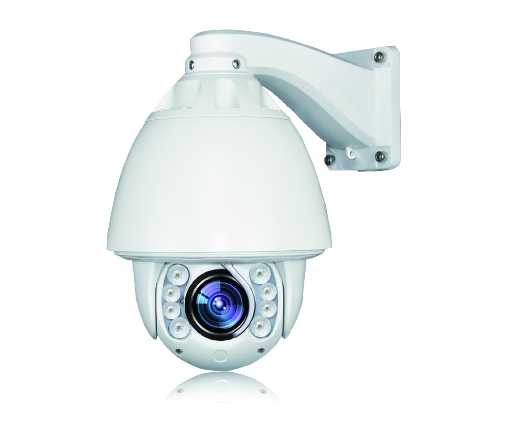 Auto tracking speed dome PTZ Camera with 1.3MP 20X Zoom