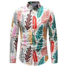plus size 5xl Environmental commemorative shirt for men good quality long sleeve casual dress male