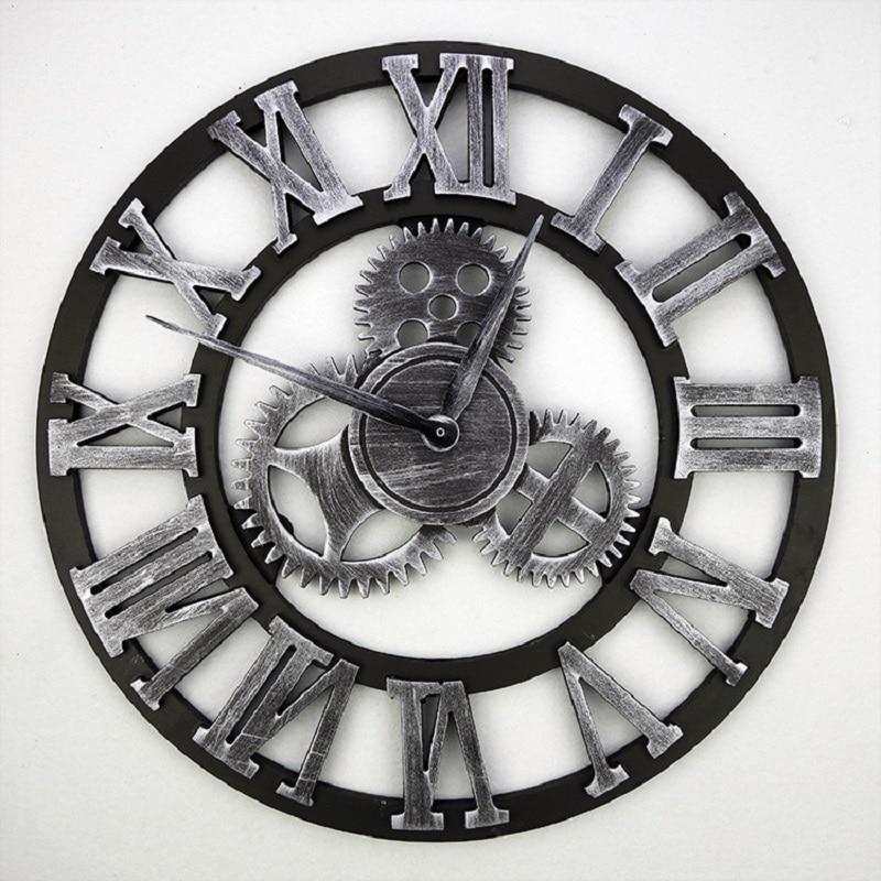 Buy 2016 Handmade 3D Gear Wall Clock