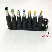 Computer Cables & Connectors 8PCS Universal AC DC Power Char