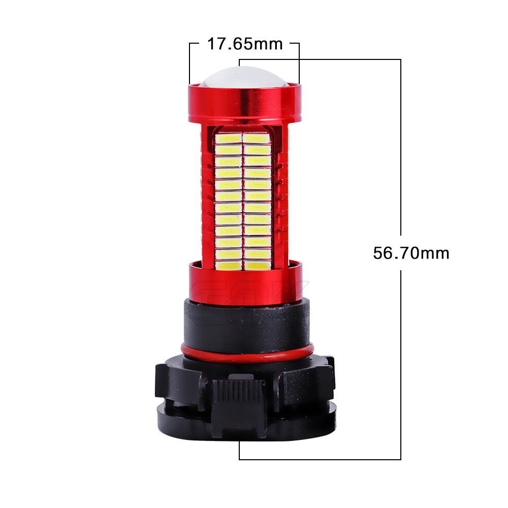 2pcs H11 H7 H4 H16 led 106SMD 4014 LED fog Lamp led Fog light LED Car - Car Lights - Photo 4