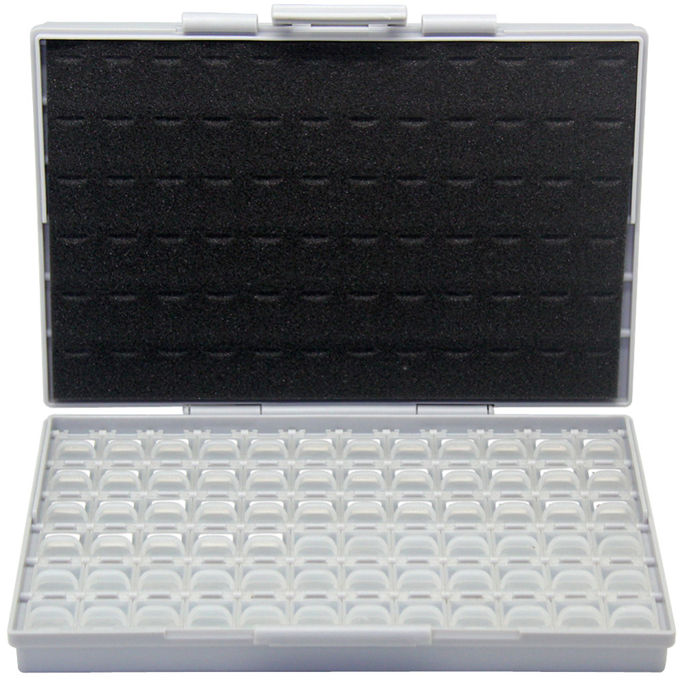AideTek 35 Values 0603 size 10PC/value Inductor organizzation storage Kit (RoHS Compliance) plastic toolbox assorted L06-10