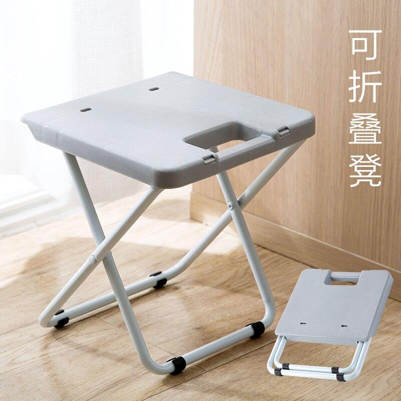 Tabouret pliant train portable tabouret pliant adulte plastique petite chaise maison chaise pliante banc