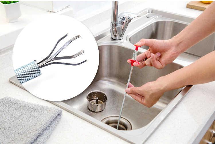 Metal tel fırça el mutfak lavabo temizleme kanca kanalizasyon tarama cihazı yay boru saç tarama aracı Metal tel fırça _ _ _ _ _ _ _ _ _ _ _ _ _ _ _ _ _ _ _ _ cm