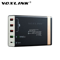 VOXLINK Quick Charge 3 0 50W 4 Ports QC 3 0 USB Desktop Charging Station 1