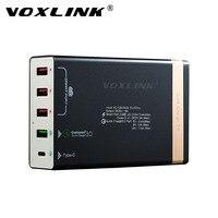 VOXLINK Quick Charge 3 0 50W 4 Ports QC 3 0 USB Desktop Charging Station 1