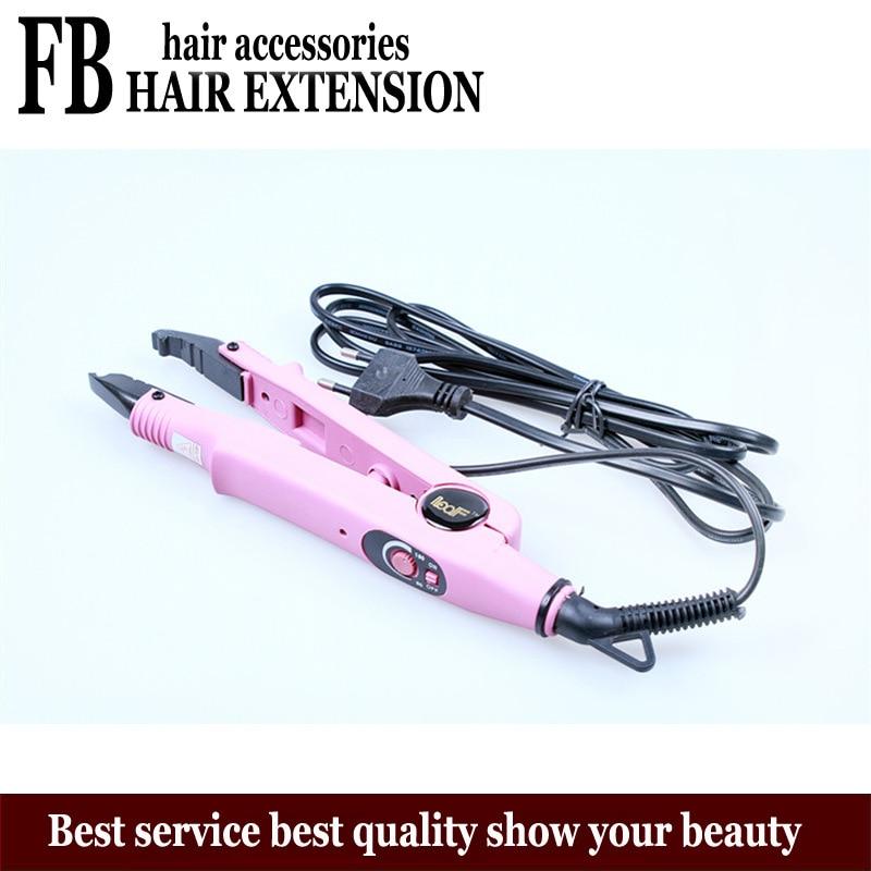 LOOF Химическое Наращивание волос кератин машина ЕС Plug гладить устройства склеивания волос Fusion Инструменты