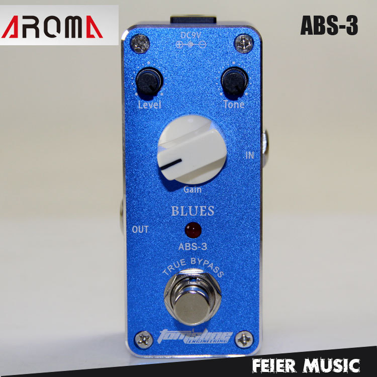 ФОТО AROMA ABS-3 Blues Overdrive Effects Pedal with True Bypass Design