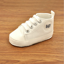 The New 2019 Baby Shoes First Walkers Spring And Autumn Paragraph Baby Shoes Cozy Soft Bottom Toddler Shoes Baby Shoes 0-1 Years cheap Shallow TONGMAO Spring Autumn Fits true to size take your normal size Unisex Lace-Up Solid Canvas