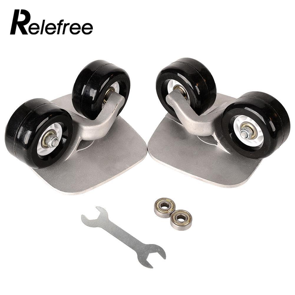 Relefree 1 paire planche de dérive Portable pour Freeline Roller Road Driftboard patins anti-dérapant planche à roulettes sport