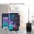 Adaptador do carregador do telefone móvel do desktop, orico 6 porta 5v2. 4a 50 w para iphone ipad ipod samsung xiaomi mais móvel dispositivos tablets/pc