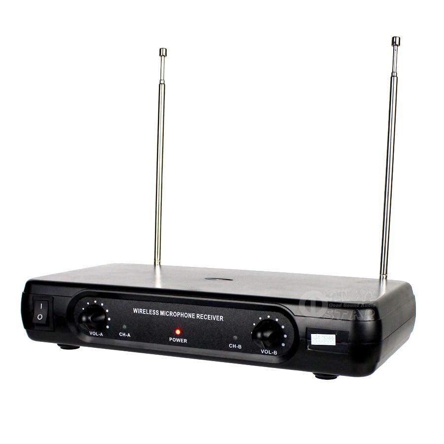 Professionaalne traadita mikrofon Karaoke süsteem Kahekordne - Kaasaskantav audio ja video - Foto 5