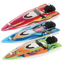 Baby Toy Kid Wind Up Clockwork Inflatable Boat Ship Bath Toy Play Water Bathroom