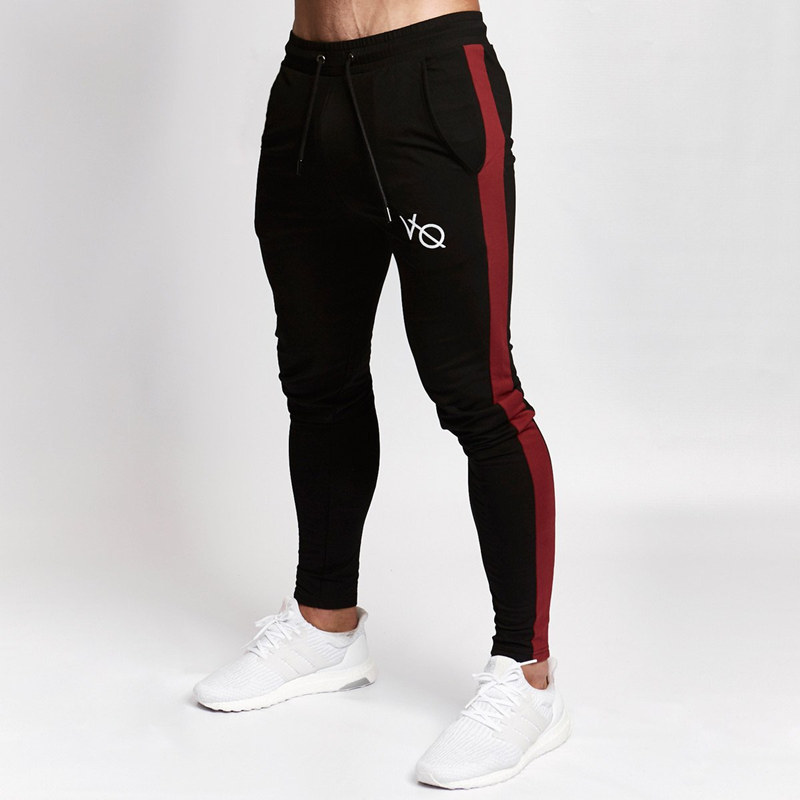 Running 2019 Autumn New Mens Jogger Sweatpants Man Running Sports Workout Training Trousers Male Gym Fitness Bodybuilding Brand Pants Promote The Production Of Body Fluid And Saliva