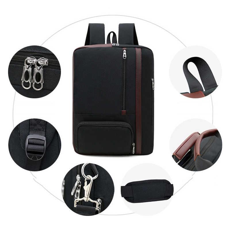 2019 3 в 1 женский мужской рюкзак для ноутбука сумка 17 дюймов рюкзаки для ноутбука 15,6 Shoudler ручные сумки Бизнес Путешествия Shcool рюкзак