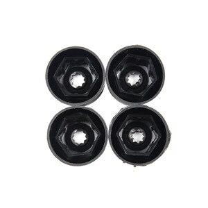 Image 3 - 20 個ホイールボルトナットキャップカバー 17 ミリメートル車のホイールのナット自動ハブカバータイヤのスタッド保護キャップホイールナット