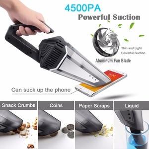 Image 5 - Пылесос аккумуляторный с функцией влажной и сухой уборки, 4500 Па