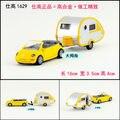 Regalo para el bebé 16 cm SIKU Volkswagen Escarabajo aleación fresco station wagon coche tire hacia atrás de aleación modelo de plástico de juguete de niño