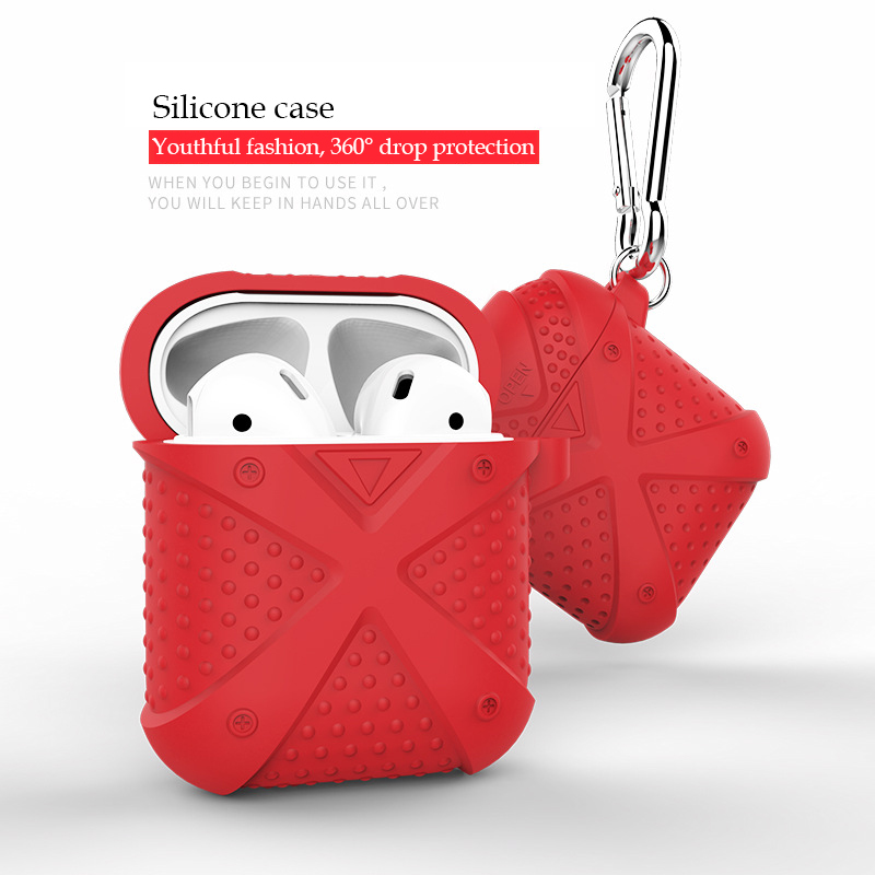 Soft Silicone Case For Apple Airpods Shockproof Cover For Apple AirPods Earphone Cases Ultra Thin for AirPods Protector case shockproof for airpods case earphone case tpu silicone bluetooth wireless headphone protector cover for apple airpods case cover
