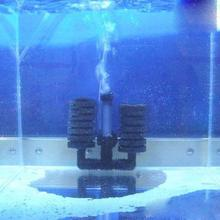 Aquarium Biochemical Sponge Filter With Fish Air Pump Tank Aquarium Filters Accessories Free Shipping -PJ