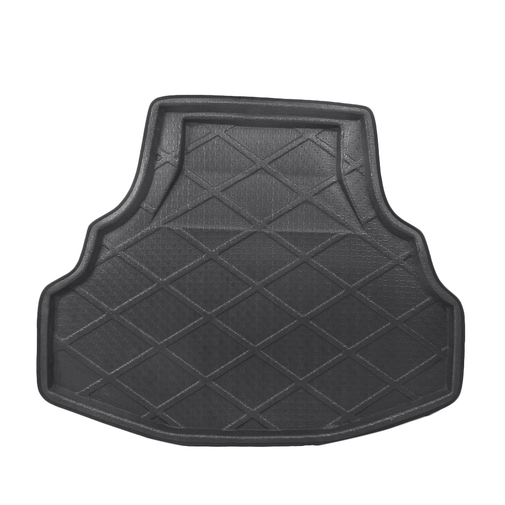 Car Rear Trunk Cargo Liner Boot Mat Floor Tray Carpet Mud Kick Protector Cover For Honda Accord 8 2008 2009 2010 2011 2012 2013      - title=