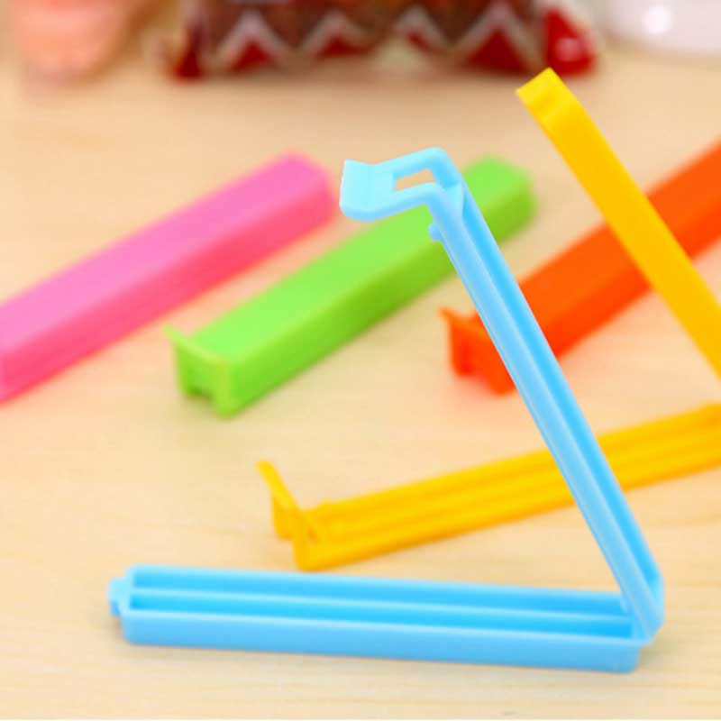 5PCS Food Storage Seal Clamp Portable Large 11CM Long Snack Plastic Sealing Bag Clip Kitchen Tool Food Close Clip