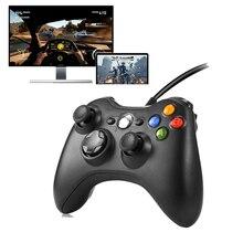 Игровой геймпад для microsoft Xbox 360 контроллер проводной игровой коврик контроллер Джойстик для ПК компьютер Win98/2000/XP/Win7/8/10