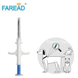 Мм Бесплатная доставка FDX-B x 8 мм/2*12 мм Bioglass тег инжектор Для микрочипов собака чип животных имплантатов ISO RFID 1,4 vet шприц pet транспондера