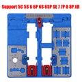 Термостойкая печатная плата держатель Jig приспособление для iPhone XR 8 8P 7P 7P 6S 6P 6 материнская плата хомуты A9 A10 A11 Инструменты для ремонта