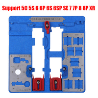 Heat resistant Circuit Board PCB Holder Jig Fixture for iPhone XR 8 8P 7 7P 6S 6P 6 Motherboard Clamps A9 A10 A11 Repair Tools
