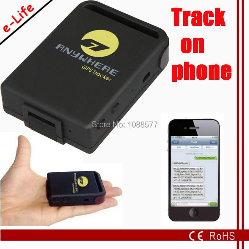 Add Sleep Mode Mini GPS Tracker Chip For Iphone Via Google Map - Mobile tracker map