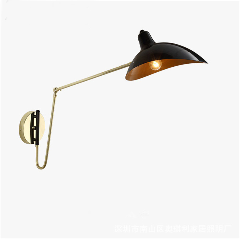 Lamps & Shades Beautiful Retro Nordic Modern Led Wall Lamp Bathroom Mirror Beside American Retro Wall Light Sconce Wandlamp Aplique Murale With E14 Bulb Strengthening Waist And Sinews