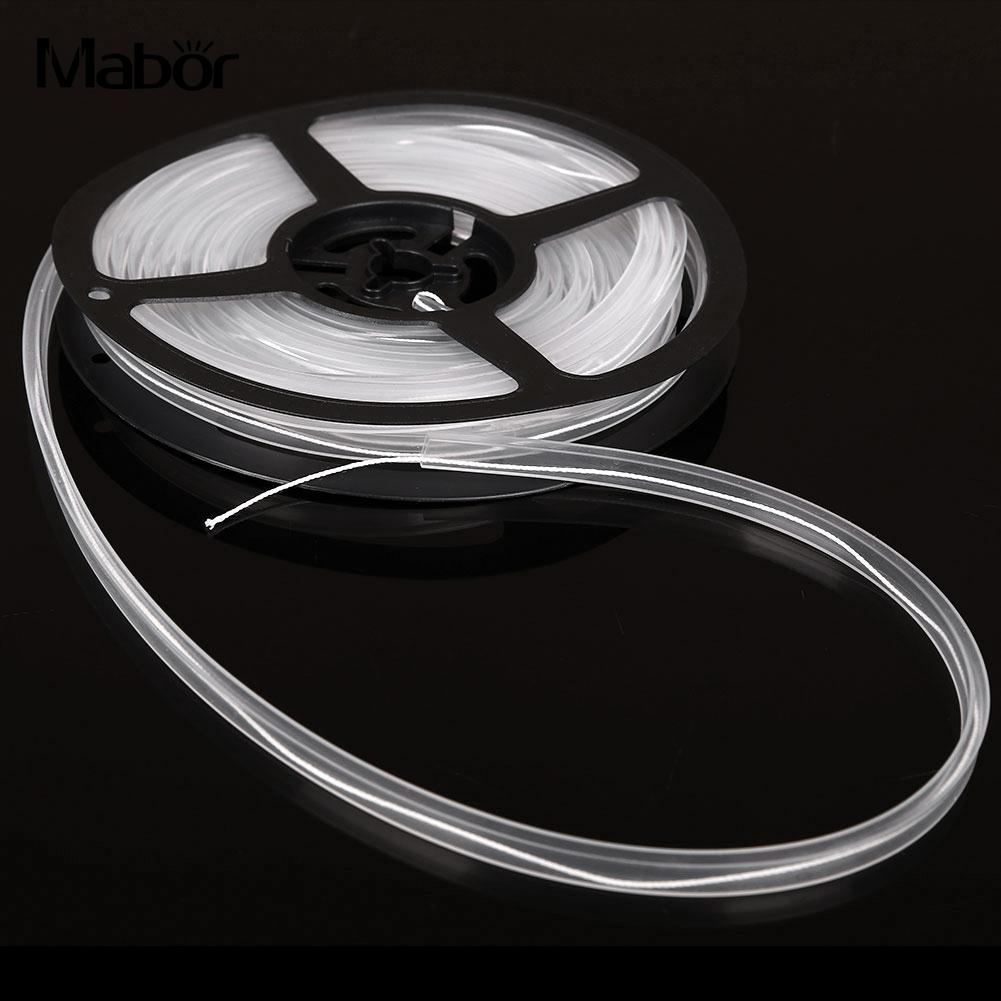 5M Soft Silicon Waterproof Tubing Rope Tube with Disc for 5mm LED Strip Light Household Lights Belts Christmas Lights Supply image
