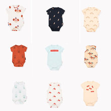 Tiny cottons 2019 Baby Body Girl Bodysuit Summer Newborn Girls Romper Summer Clothes Funny Baby Boys TC Cotton Onesies Cicishop(China)