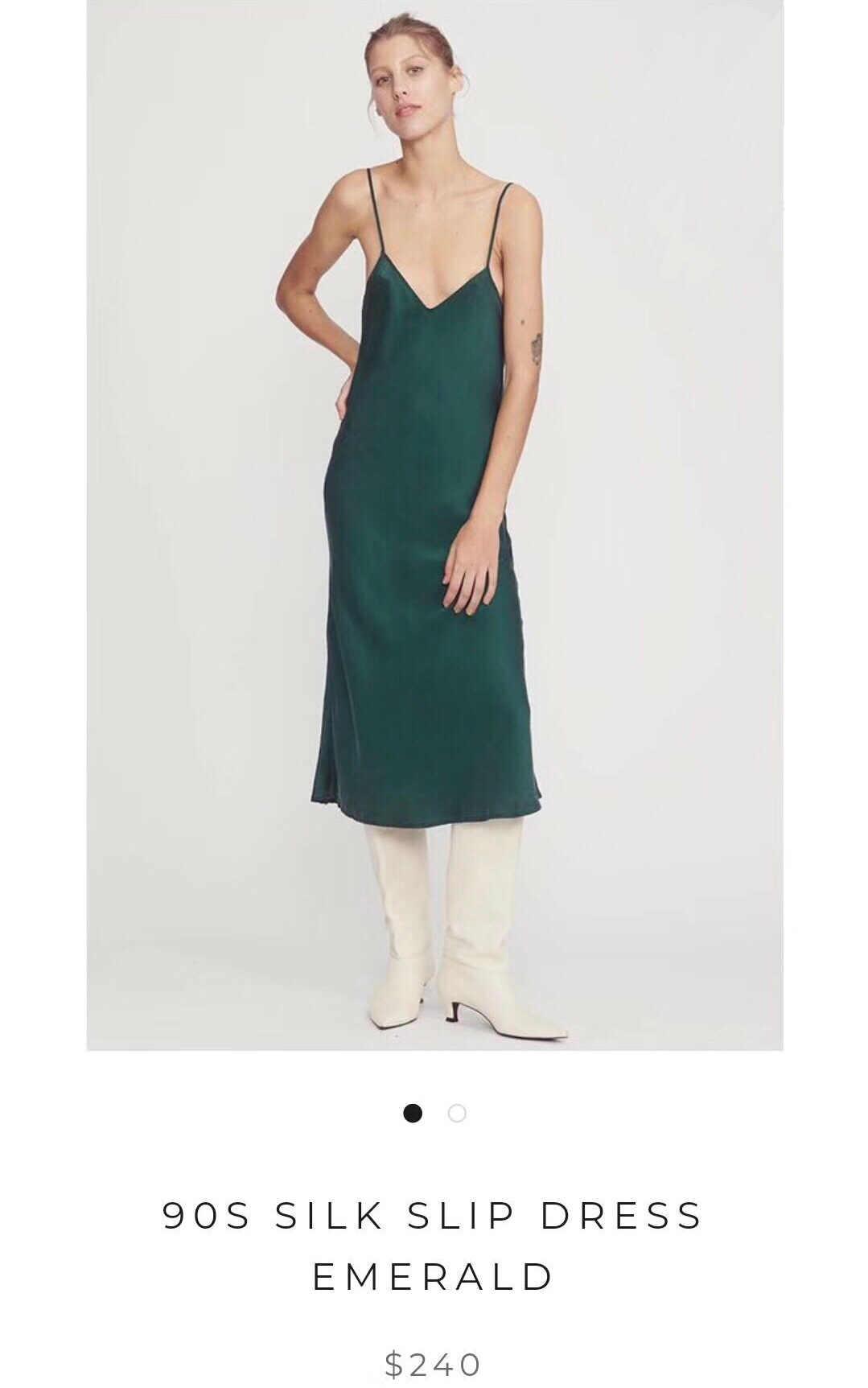 3b9663ca91d99 Heavy Silk Suspender dress 2019 Early Spring Style Oblique Cut Silk Heavy  Sand Washing Process Women midi Dress