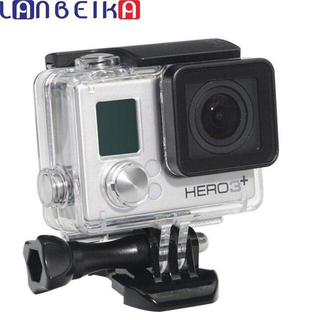 LANBEIKA For Gopro Hero 4 3+ Waterproof Housing Case Standard 40m Underwater Waterproof Protective Case For Gopro Hero4 Hero3+