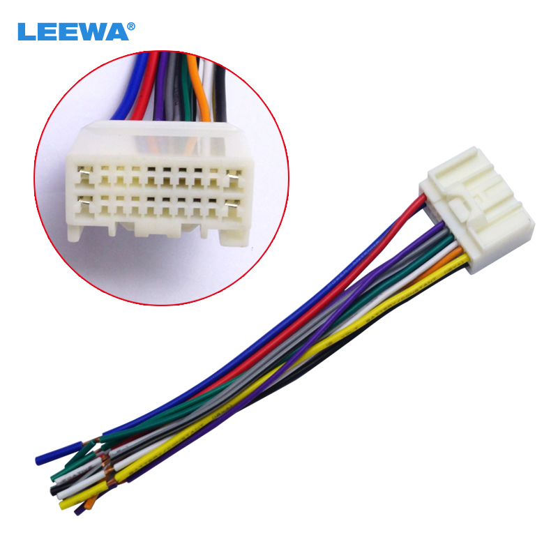 Stereo Wire Wiring Harness Plug For Pionner 2009 Models Deh11e Deh