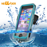 Waterproof Dirt Shockproof Case For IPhone 7 7G 6 6s Cover IP68 Full Body Armband Outdoor