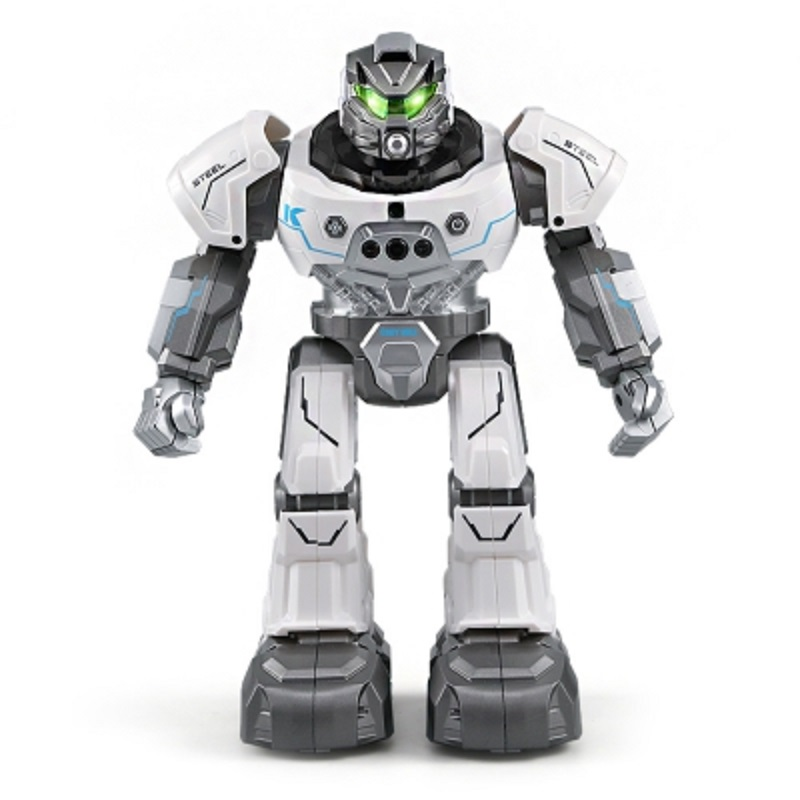 JJRC R5 RC Robot Auto Follow Smartwatch Control Sing Dance Intelligent Programming 4 Channels Gestures sensor Robots 2018