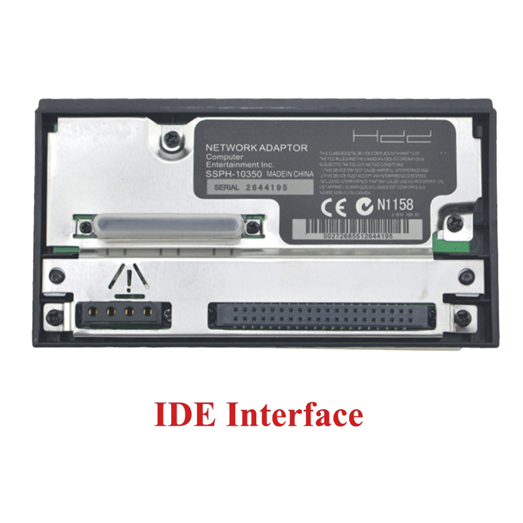 SATA/IDE Port Network Adapter HDD Adaptor Hard Disk Replacement For Play Station 2 Game Console